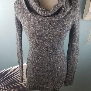 Grey sweater dress bcbg maxazria dress